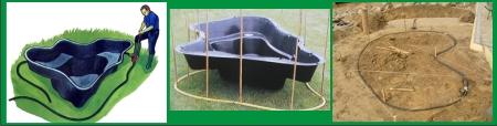 Как выкопать декоративный пруд