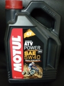 Масло Motul ATV Power 4T 5W40 4 л